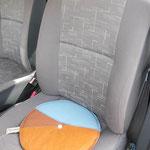 EDLER LEDER-Polster im Auto