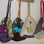 4 Taschen-Rucksäcke für Kinder