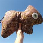 ... und ein weiteres Tierchen-Polster im strahlend blauen Himmel