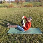 Bild1: Zur Entspannung des Rückens