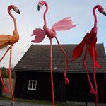 Magnet-Flamingos