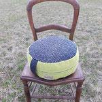 Sitz- und Meditationspolster medium, Füllung: Dinkelspelzen kbA.
