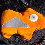 samtig oranges reflek-TIER - Miss Pumkin in Zivil :-D