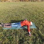 Bild5: Zur Entspannung des Rückens