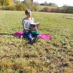 Polster als super Buch-Unterstützung