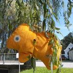 Tierchenpolster gelb
