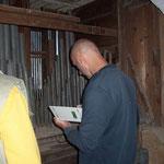 Bestandaufnahme und Reinigung der Orgel (Orgelbauer Herr Schild)