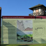 Informationstafel am Limeswanderweg (WP 1/1)