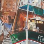 Alter Hafen, Acryl auf Leinwand, 80 x 60
