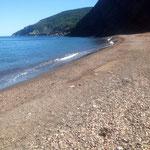 Meat Cove. La plage