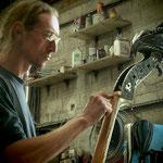 Préparation du sillet en laiton