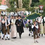 Die Ehekirchener Bierhochzeit mit Gerstenbraut und Hopfenbräutigam