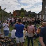 Exposition au jardin Bergevin pour Les cuivres fêtent l'été !