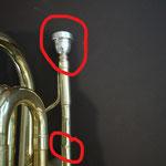 Quand une embouchure est bloquée et qu'on tire dessus avec une pince par exemple, eh bien on fait plus de dégâts qu'avant...