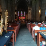 Exposition à un concert autour du saxophone à l'occasion de la Nuit de Eglises.