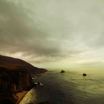 Landscape Photographie digital color Californie Big sur