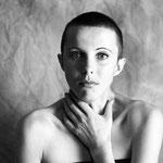 Portrait Brunhilde Comedienne, argentique Portrait studio