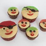 Piratenmuffins - Rezepte für Piratenparty und Kindergeburtstag