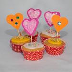 Zitronenmuffin-bunte-Kinderparty-Ideen für den Kindergeburtstag