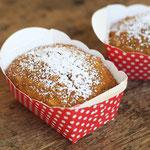 Mini Möhrenkuchen - bunte Kinderparty