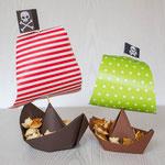 Piratenparty Snackschiffchen