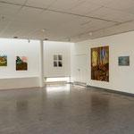 Un pavé dans le paysage  2014, galerie Gustave Ansart Trith-st-Léger
