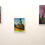 Le paysage  2015 galerie Le Leé, Metz