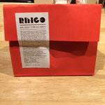 赤い袋が可愛い LINGOの袋