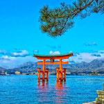 日本旅游攻略,ALEXANDER-2020年东京奥运会,JAPAN,日本第一酵素,ALEXANDER&SUN,纳豆精,纳豆激酶日本旅游指南,-广岛,厳島神社