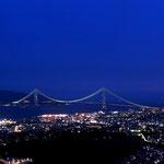 日本旅游攻略,ALEXANDER-2020年东京奥运会,JAPAN,日本第一酵素,ALEXANDER&SUN,纳豆精,纳豆激酶日本旅游指南,-神户须磨浦山游园 - 钵伏山夜景,明石海峡大桥
