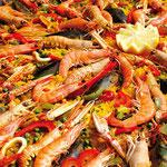 Paella pour repas de fête