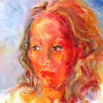Barbara, Acryl auf Leinwand, 50x40