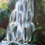 Privatbesitz, Element Wasser, Ayryl auf Leinwand, 120x80