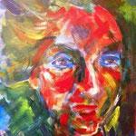 LifeBall, Acryl auf Leinwand, 50x40