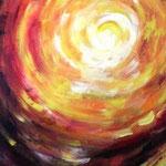 Element Licht, Acryl auf Leinwand, 70x50