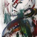 Der Jetztund, Acryl auf Leinwand, 50x40