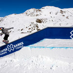 Rail plat-descente 9m Winter X Games Europe - Tignes 2011