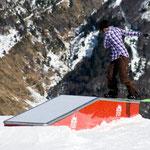 Box plat descente standard - 6m - Snowpark Artouste 2011
