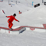 action box winamax x park Tignes 2012