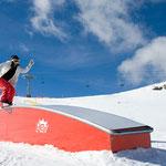 Box rainbow standard 6m - Snowpark Artouste 2011