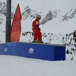 Box montée-plat-descente 9m - Courchevel 2009