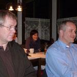 Michael Benvenuti (VBV) und Joe Stampach (Stadt Bregenz)
