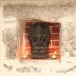 Ganesh-Dieu qui lève les obstacles des illusions et de l'ignorance.