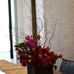 生け込み:ミーティングルームの花