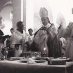 2.7.1939 Kirchweihe: Salbung der Altäre und Beisetzung der Reliquien