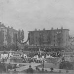 Grundsteinlegungsfeier 1905