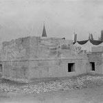 Baubeginn an der Sakristei