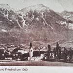 Das alte Pradl um 1900