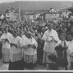 Grundsteinlegungsfeier Schutzengelkirche
