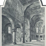 Skizze zur Gestaltung des Inneren von Architekt Prof. Schmitz